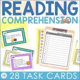 Strategic Reader Question Cards - Fiction Task Cards