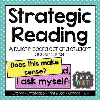 Strategic Reading: Strategy Prompts Freebie