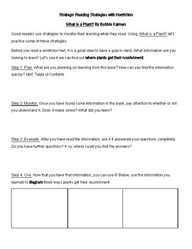 Strategic Reading Strategies Guide with Nonfiction