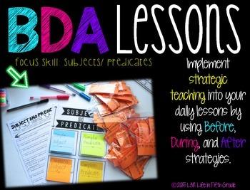 Strategic Teaching Lesson: Subject and Predicate