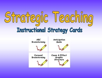 Strategic Teaching Strategy Cards