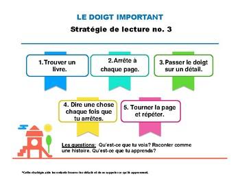 Stratégie de lecture: Le doigt important
