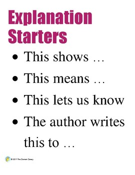 Strategies To Explain in Writing