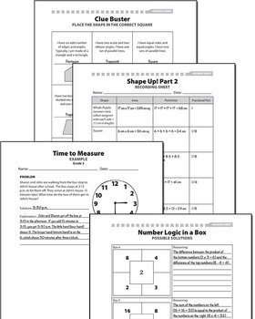 Strategies and Activities for Common Core Math: Grades 3–5, Part 2