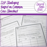 SLP Strategies based on Common Core Standards