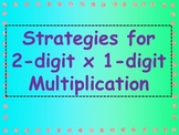 Strategies for 2 digit Multiplication - Poster Set