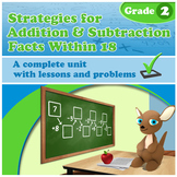 Strategies for Addition & Subtraction Facts Within 18 (Distance Learning)
