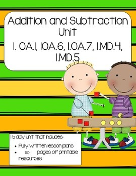 Strategies for Addition and Subtraction (Math Lessons and Activities)