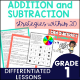 First Grade Guided Math Addition and Subtraction Strategie