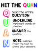 Strategy for Answering Questions - Hit the QUAN