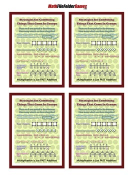 Strategies for Combining Things That Come In Groups Poster
