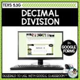 Strategies for Decimal Division | Digital Math Task Cards