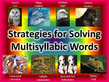 Strategies for Decoding Multisyllabic Words
