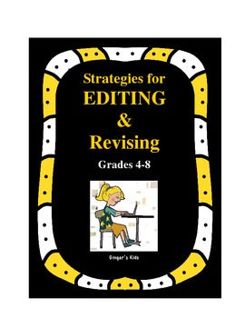Strategies for Editing and Revising