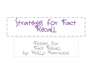 Strategies for Fact Recall