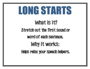 Strategies for Fluency/Stuttering