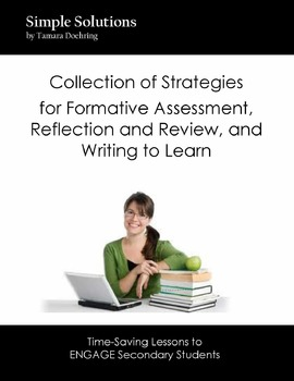 QUICK LIST of strategies for Formative Assessment, Review, & Writing to Learn