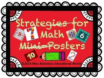 Strategies for Math Mini-Posters