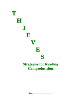 Strategies for Reading Comprehension THIEVES