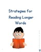 Strategies for Reading Longer Words