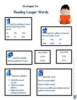 Strategies for Reading Longer Words