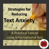 Strategies for Reducing Test Anxiety - A Practical Reading Lesson