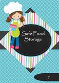 Strategies for Safe Food Storage