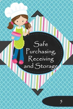 Strategies for Safe Purchasing, Receiving and Storage of Food