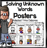 Strategies for Solving Unknown Words: Posters for Readers
