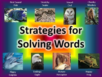 Strategies for Solving Words (Decoding Words)