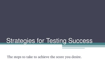 Strategies for testing success