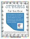 Strategies for the RICA