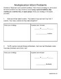 Strategies in Multiplication Word Problems