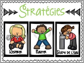 Stratégies pour me calmer/ Sefl Regulation Strategies