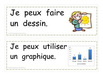 Stratégies pour résolution de problèmes / Problem Solving Strategy Cards French