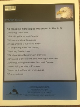 Strategies to Achieve Reading Success : Book G