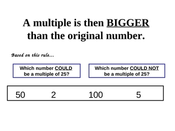 Strategies to Find the Multiples of a Number:  PowerPoint Presentation