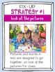 Reading Strategy Card & 9 Fix-Up Strategy Mini-lessons with 9 Strategy Posters