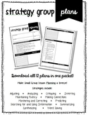 Strategy Group Lesson Plan - Critiquing