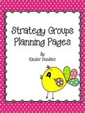 Strategy Group Planning Pages