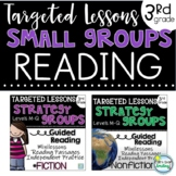 Small Group Reading Activities 3rd Grade Strategy Group Lessons BUNDLE