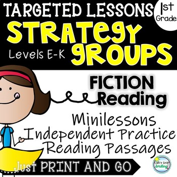 Strategy Groups Lessons 1st Grade Fiction Including Reading Passages