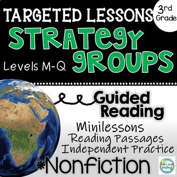 Strategy Groups Lessons Nonfiction 3rd Grade