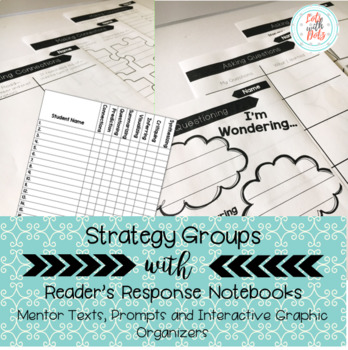 Strategy Groups Reader's Response Journals: Text, Prompts and Graphic Organizers