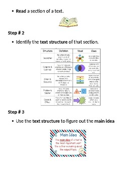 Strategy Lesson - Plan main idea