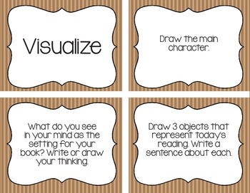Reading Strategies Comprehension Response Questions