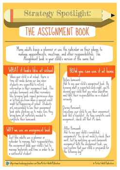 Strategy Spotlight: The Assignment Book