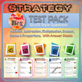 Strategy Tests Bundle - Stage 4-8 - Gloss Style Questions - New Zealand