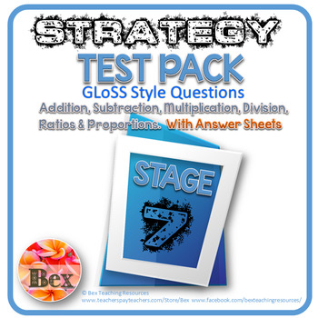 Strategy Tests Pack - Stage 7 - Gloss Style Questions - New Zealand