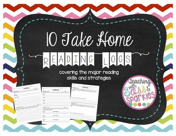 Strategy and Skill Focused Home Reading Logs
